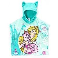 Disney Princess Palace Pets Hooded Poncho (Aurora - Teal) by AME [並行輸入品]
