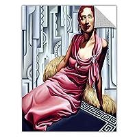 "ArtWall""La Vie En Rose Removable Graphic Wall Art by Catherine Abel, 36 by 44-Inch [並行輸入品]"