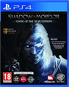 Middle-Earth: Shadow of Mordor - Game of the Year Edition (PS4) by Warner Interactive [並行輸入品]