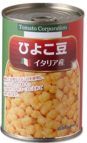 トマトコーポレーション ひよこ豆(イタリア産) EO缶 400g×24個