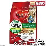 箱売り ビューティープロ キャット 猫下部尿路の健康維持 低脂肪 1歳から 1.4kg(280g×5袋)お買い得6袋 成猫