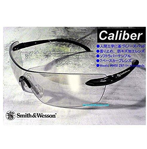 (スミス&ウェッソン)Smith&Wesson Caliber/キャリバー クリアーミラー スポーツサングラス サングラス スポーツグラス 花粉症 ホコリ メガネ S&W並行輸入品