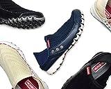 【かかと 踏める】 レディース 婦人靴 スニーカー 軽量 メッシュ ネイビー 丸大 bol7708 BOBSON ボブソン (23.5, ホワイト)