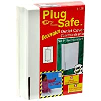 Plug Safe Decorator Child Safe Rectangular Outlet Cover #126 - 6 Covers by Plugsafe [並行輸入品]