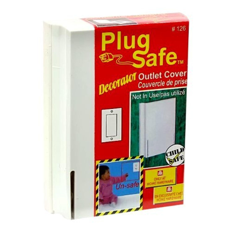 Plug Safe Decorator Child Safe Rectangular Outlet Cover #126 - 6 Covers by Plugsafe [並行輸入品]