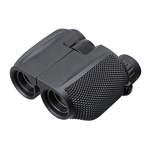 Titan Mall 双眼鏡 10×25 高倍率 防水 BK7プリズ ストラップ付/拭き布付き