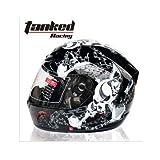 Tanked Racing T112 ヘルメット フルフェイスヘルメット XL(61-62CM)