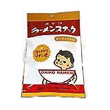 【オキコ】ラーメンスナック(ピーナッツ入り)まろやかなチキン味