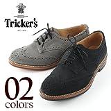 ネイビー(C75) UK9.0(JPN27.5) TRICKER'S M7292 WING TIP トリッカーズ M7292 ウィングチップ (2colors)