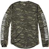 (ホリスター)Hollister メンズ ロングTシャツ ( ロンT ) CAMO LOGO GRAPHIC TEE [並行輸入品]