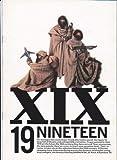 映画パンフレット 「19 ナインティーン」出演:錦織一清、東山紀之、植草克秀