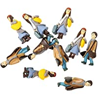 パック/ 10pcs 1 : 42 Scale DIYモデルCouple Lovers Figures Peopleアクセサリーギフト