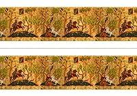 Melody Jane Dolls House Miniature Print 1:12 Scale Tudor Wallpaper Frieze