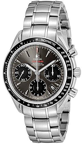 [オメガ]OMEGA 腕時計 スピードマスター グレー文字盤...