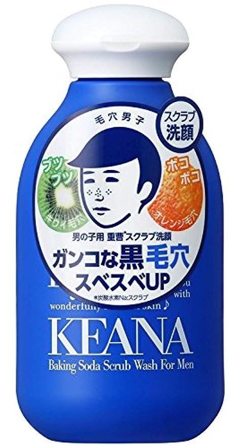 大きい最愛のプランター毛穴撫子 男の子用 重曹スクラブ洗顔N 100g
