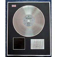 Metallica - Limited Edition CD Platinum LP Disc - The Black Album