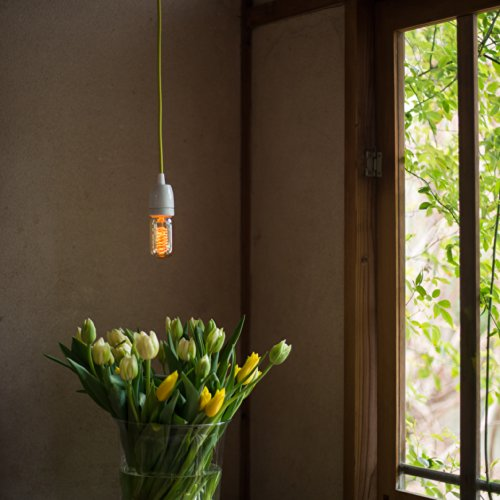 LineMe CERAMIC NIPPON COLORS(ラインミー・セラミック)吊下げ用電灯器具(引掛けシーリング仕様) (縹/HANADA) LineMe