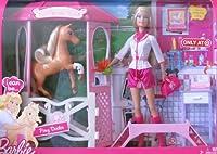 バービーI Can Be Pony DoctorプレイセットWバービー人形Vet , Horse & More 。ターゲットExclusive ( 2010)