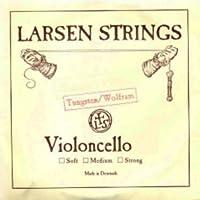 CUERDA VIOLONCELLO - Larsen (Wolframio) 4ェ Fuerte Cello 4/4 (C) Do (Una Unidad)
