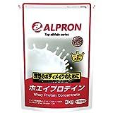 ailpron ホエイプロテイン アルプロン ホエイプロテイン100 チョコレート 3kgの画像
