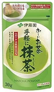 伊藤園 手軽に抹茶 30g (チャック付き袋タイプ)