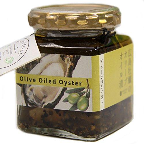 【広島牡蠣のオリーブオイル漬け】 アヒージョテイスト 120g 瓶入り 【丸福食品】