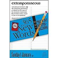 365 New Words 2017 ページ/日(英単語) メモ帳 カレンダー