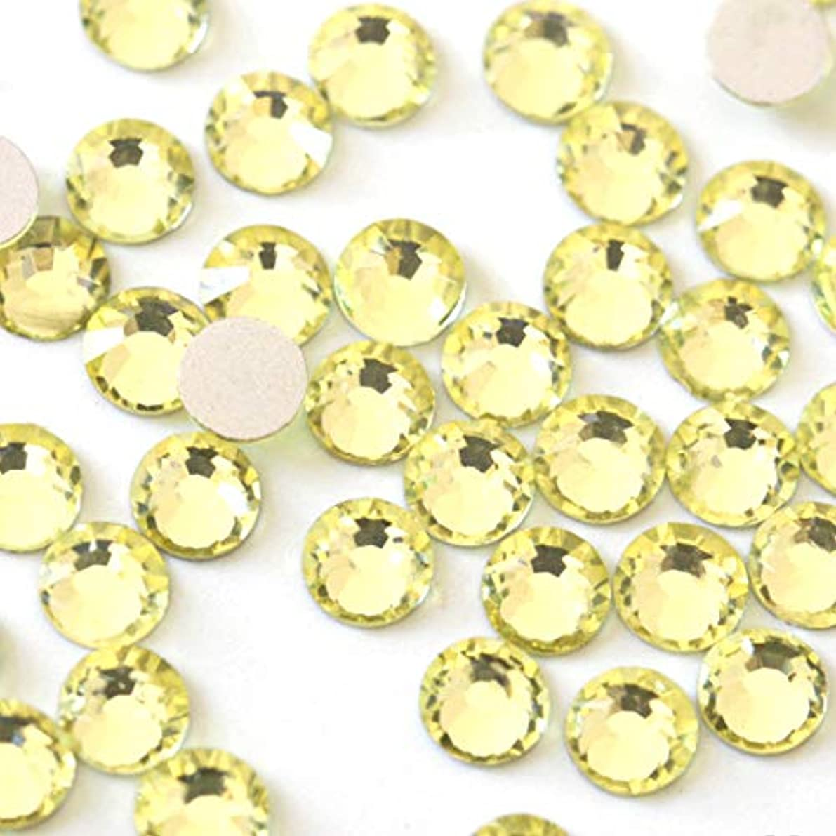 【ラインストーン77】 超高級 ガラス製ラインストーン SS4~SS30 ジョンキル スワロフスキー同等 (3.0mm (SS12) 約200粒)