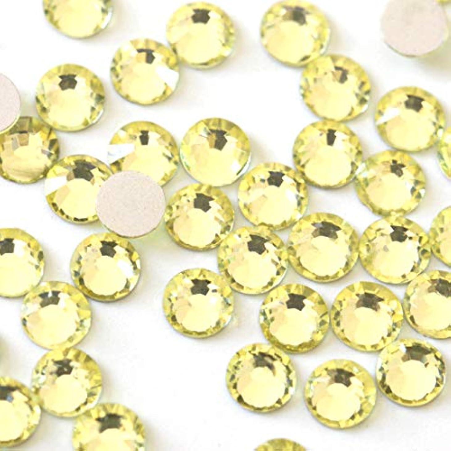 状態敵対的最終【ラインストーン77】高品質ガラス製ラインストーン ジョンキル(2.6mm (SS10) 約200粒)