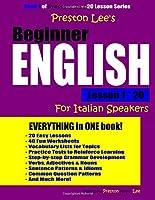 Preston Lee's Beginner English Lesson 1 - 20 For Italian Speakers