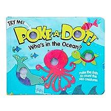 Melissa & Doug Children's Book - Poke-A-Dot: Who's in The Ocean