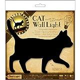 LED壁ライト 猫 てくてく