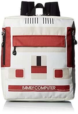 [タイトルロール] リュック ファミコン キッズ スクエア型 20719011 01.OFF オフホワイト