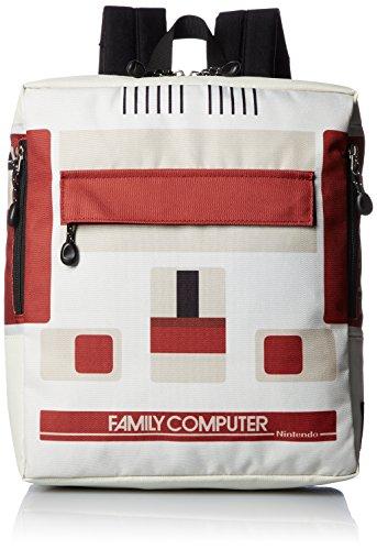 [タイトルロール] デイパック ファミコン キッズ スクエア型 20719011 01.OFF オフホワイト