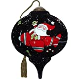 Ne'Qwa Santa Takes Flight Ornament