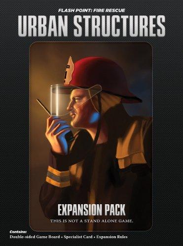 フラッシュポイント 火災救助隊拡張セット 構造拡張 (Flash Point:Fire Rescue Urban Structures) ボードゲーム
