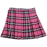 スカート コスチューム ホットピンク×黒×白 レディース LLサイズ