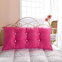Vercart ヘッドボード ヘッドガード クッション 新生活 洗えるカバー ベッド オシャレ 背もたれ インテリア ピンク 幅100cm 高さ55cm