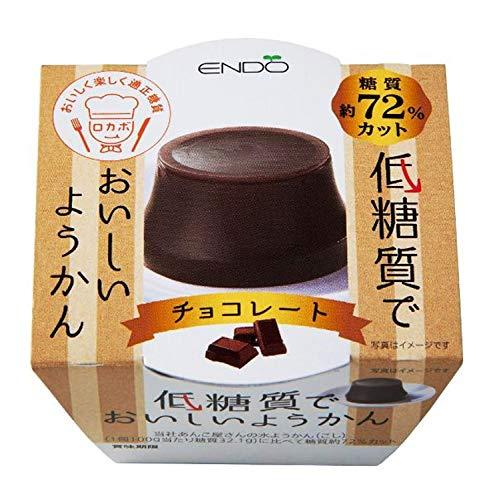 遠藤製餡 低糖質ようかんチョコレート 90g ×6個
