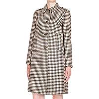 RED VALENTINO Women's QR3CA1N53SC954 Beige Wool Coat