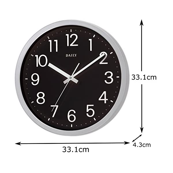 DAILY(リズム時計) クォーツ時計 フラッ...の紹介画像5