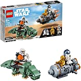 LEGO Star Wars Escape Pod vs. Dewback Microfighters 75228 Building Toy