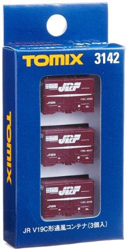 TOMIX Nゲージ 3142 V19C形通風コンテナ (3個入)