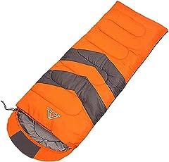 寝袋 封筒型 軽量 sleepingbag アウトドア 登山 車中泊 丸洗い 夏用 冬用 収納袋付き C
