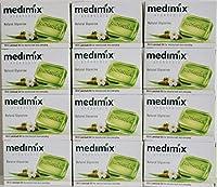 MEDIMIX ナチュラルグリセリン(旧クラシックライトグリーン) 石鹸 12個 125g