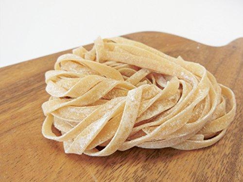 【糖質80%オフ/こだわり本格生パスタ 】ミートソース相性抜群!ローカーボパスタ・平麺80g (12玉)