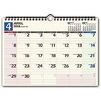 能率 NOLTY 2018年 カレンダー 壁掛け36 A4 C136