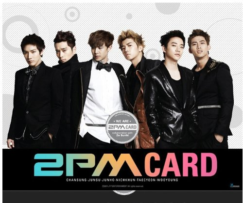 【JYP 公式 グッズ】 2PM STAR COLLECTION CARD Vol.1 [並行輸入品]