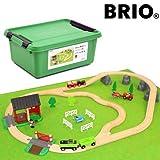 BRIO 木製レール 特製プラケース入り・カントリーレールセット2(数量限定品)