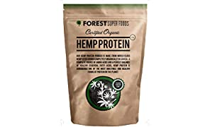 Forest Super Foods Certified Organic Hemp Protein Premium Quality